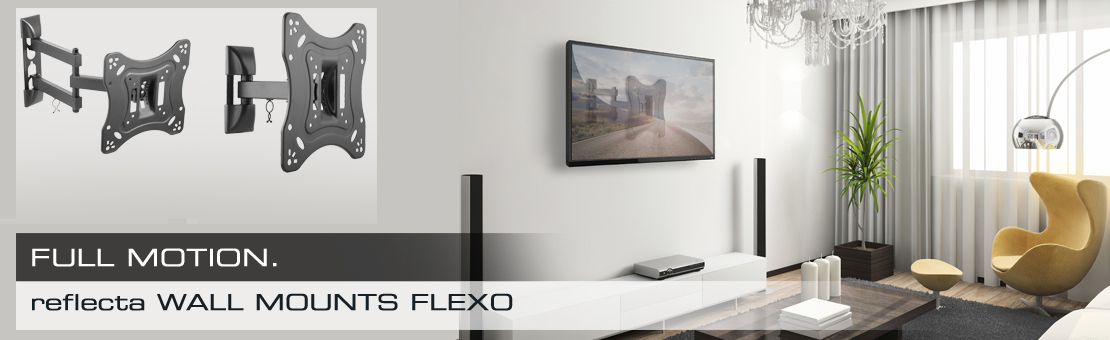 reflecta FLEXO 40-200 silver