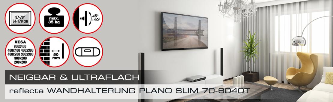 reflecta PLANO Slim 70-6040T