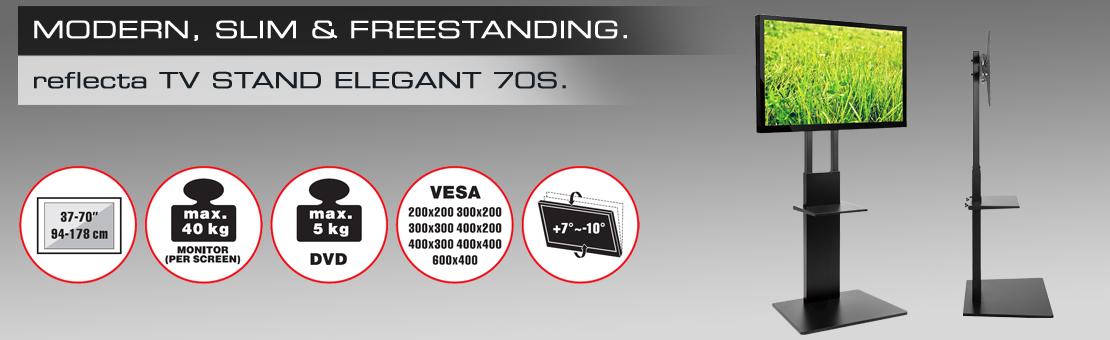 reflecta TV Stand Elegant 70S black