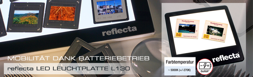 reflecte LED Lecuhtplatte L130