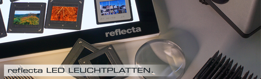 reflecta LED Leuchtplatten