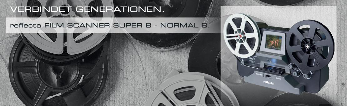 reflecta Filmscanner Super 8 - Normal 8
